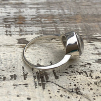 Custom Cremains & Sterling Silver Signet Ring