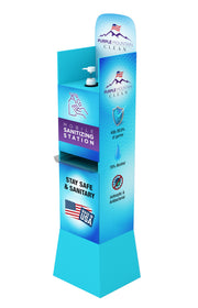 Purple Mountain Clean Mobile Sanitizing Station