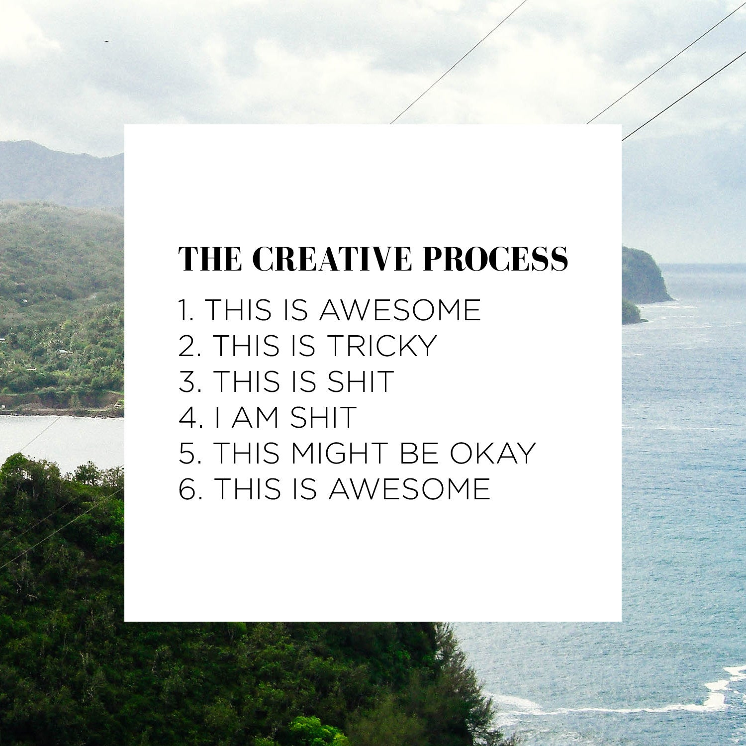 The Creative Process - Salt-shoppe.com