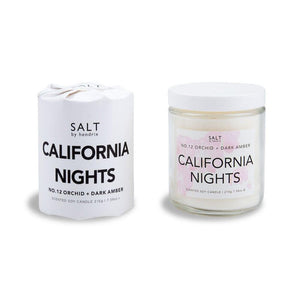 California Nights Venice Beach Candle - Salt Shoppe - Surf inspired canvas and neoprene bags for paradise.