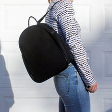 NEOPRENE BACKPACK - BLACK