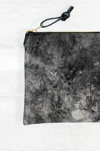 ISLAND SERIES 006 - BLACK DYED CANVAS CLUTCH