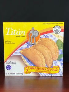 Empanadillas de Pollo Titan 5ct