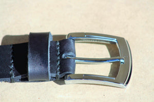 Black Leather Belt Belt Marvelous Black Lion