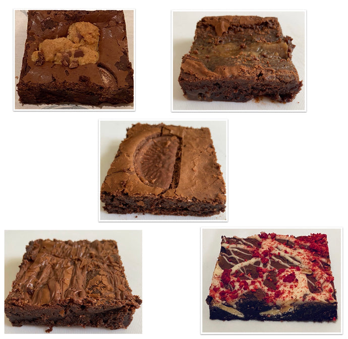 Mixed box of Brownies by Brownies Rock