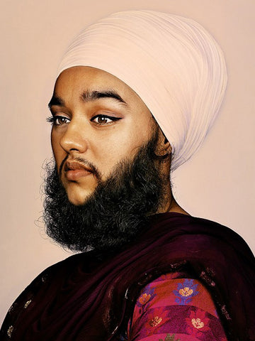 Harnaam Kaur Beard
