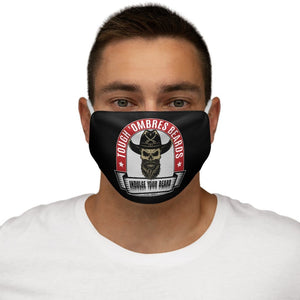 Tough 'Ombres Beards-Snug-Fit Polyester Face Mask Accessories Printify