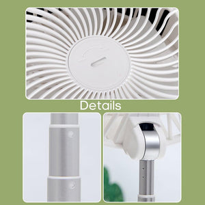 [Limited time as low as $ 19.88] Foldable Fan - USB Rechargeable Air Fan#🔥Blowing 15+ hours🔋7200MAH