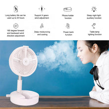 Load image into Gallery viewer, [Limited time as low as $ 19.88] Foldable Fan - USB Rechargeable Air Fan#🔥Blowing 15+ hours🔋7200MAH