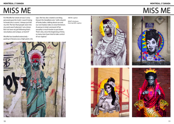 WOMEN STREET ARTISTS - The Complete Guide
