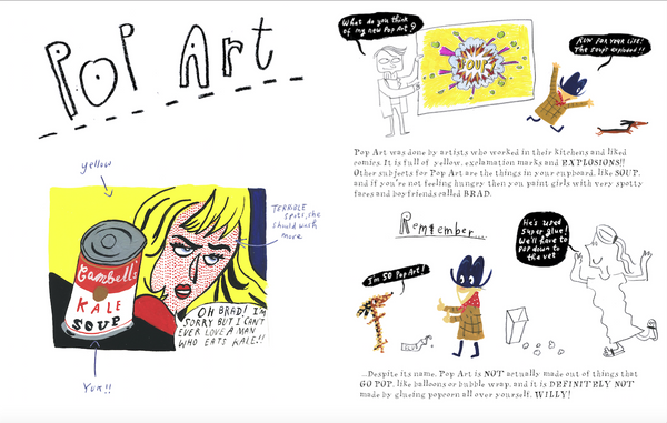 KIT AND WILLY'S GUIDE TO ART