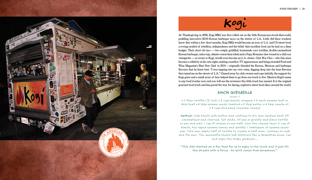 Food truckin recipes from the worlds best food trucks graffito food truckin recipes from the worlds best food trucks forumfinder Gallery