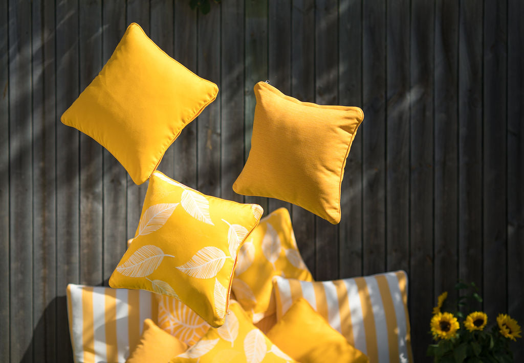 Camburi Yellow - Small Throw Cushion