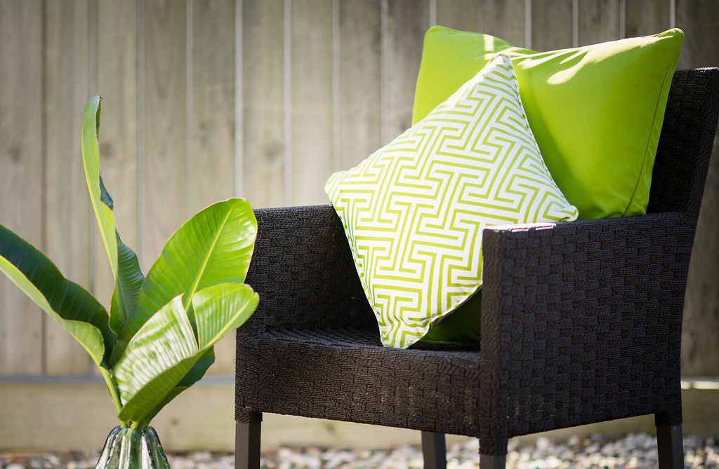 Negrill Green - Small Throw Cushion