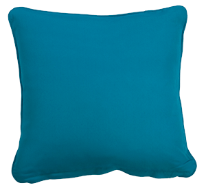 Cartenza Acqua Blue Outdoor Cushion by Love Your Outdoor