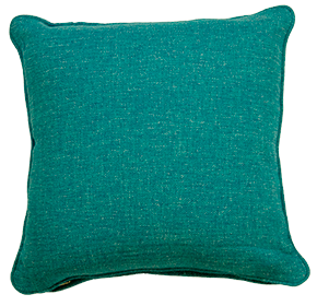 Copacobana Blue - Large Throw Cushion