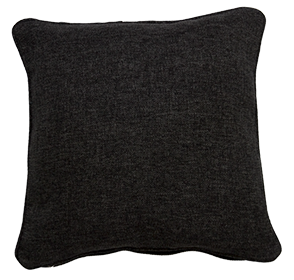 Copacobana Black - Small Throw Cushion
