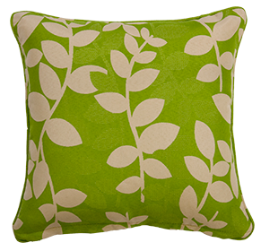 Katapus Green - Large Throw Cushion