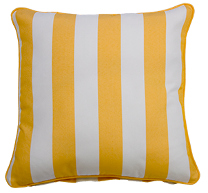 Koblenz Yellow - Small Throw Cushion