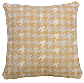 Lapunta Yellow - Large Throw Cushion