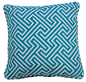 Negrill Blue - Large Throw Cushion