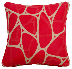 Parlee Red - Small Throw Cushion