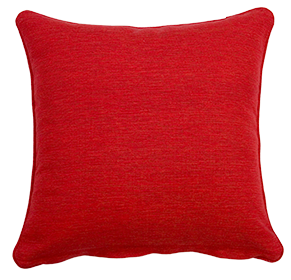 Southend Red - Large Throw Cushion