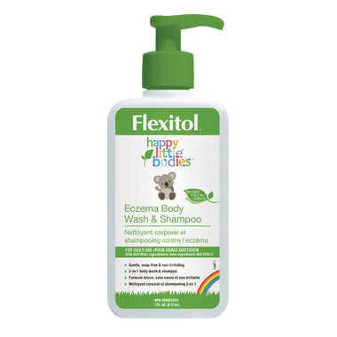 Eczema Body Wash & Shampoo - Happy Little Bodies - Flexitol