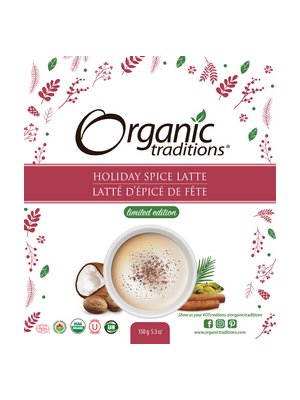 Holiday Latte Mix - Sample - Organic Traditions