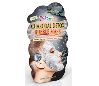 Charcoal Bubble Facemask - 7th Heaven
