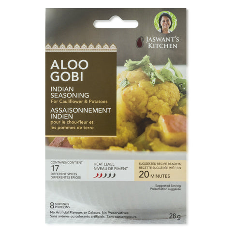 Aloo Gobi - Jaswant's Kitchen