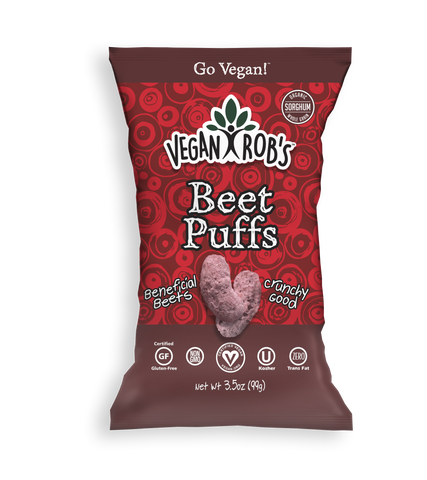 Beet Puffs - Vegan Rob's