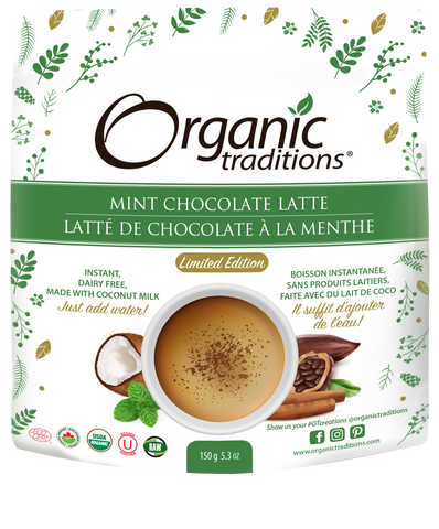 Mint Chocolate Latte - Deluxe Sample - Organic Traditions
