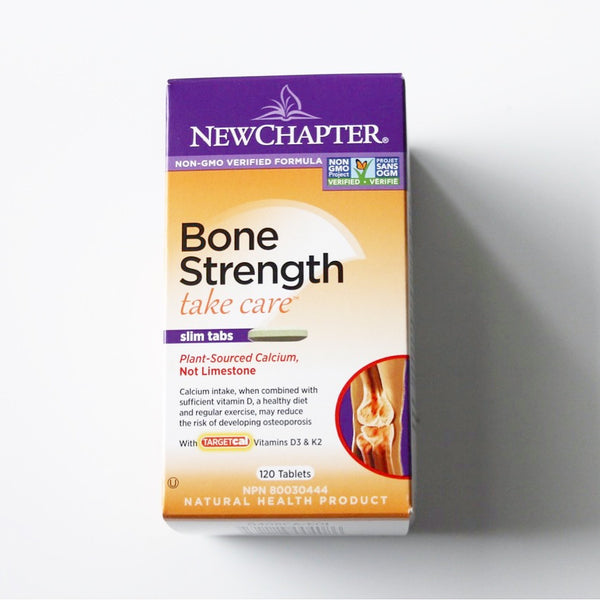 Bone strength tablets - New Chapter