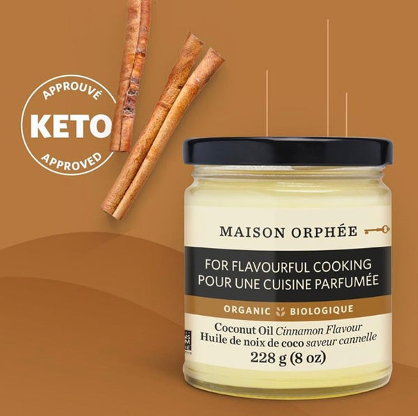 Organic Flavored Coconut oil - Maison D'orphee