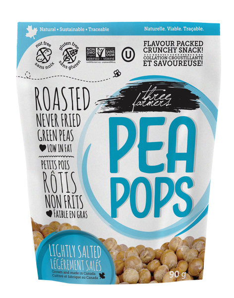 Pea Pops - Lightly Salted - Three Farmers