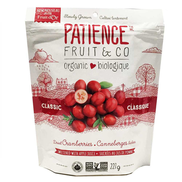Dried Cranberries - Patience Fruit & Co