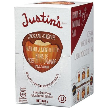 Almond Butter - Squeeze packs - Justin's