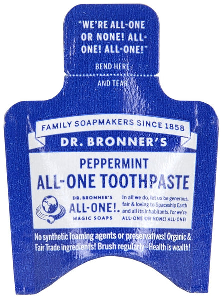 Toothpaste - Peppermint - Dr. Bronner's