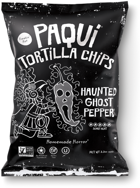 Tortilla Chips - Haunted Ghost Pepper - Paqui