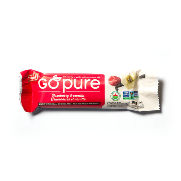 little life box go pure bar raspberry vanilla leclerc