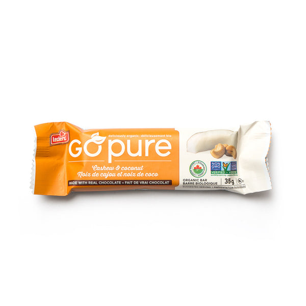 Snack Bar - Cashew Coconut - Go Pure