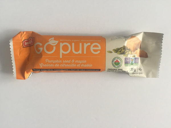 Go Pure Bar - Pumpkin & Maple - Leclerc