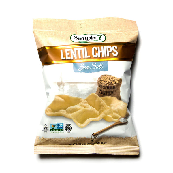 Lentil Chips - Sea Salt - Simply 7