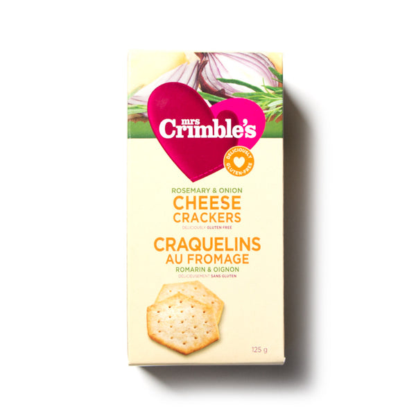 little life box cheese crackers rosemary onion mrs. crimbles