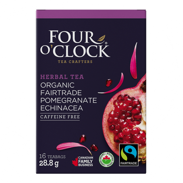Tea - Pomegranate Echinacea - Four O'clock