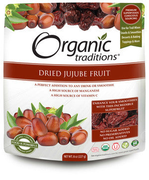 Dried Jujube Fruit - Organic Traditions