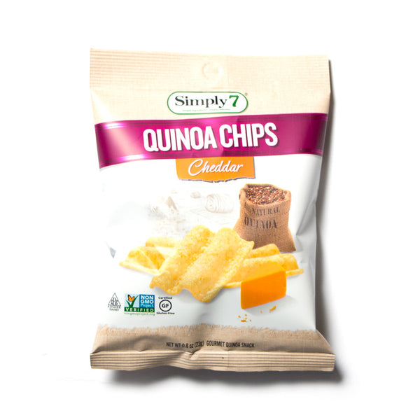 Quinoa Chips - Cheddar - Simply 7