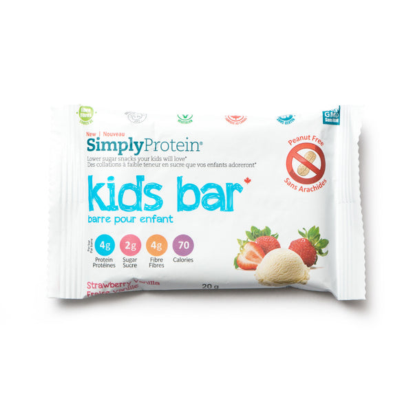 Kids Bar - Strawberry Vanilla - Simply Protein
