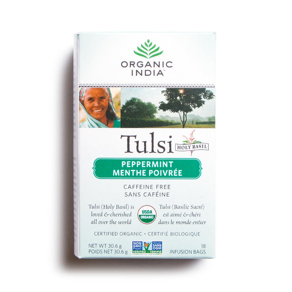 little life box tulsi tea peppermint organic india